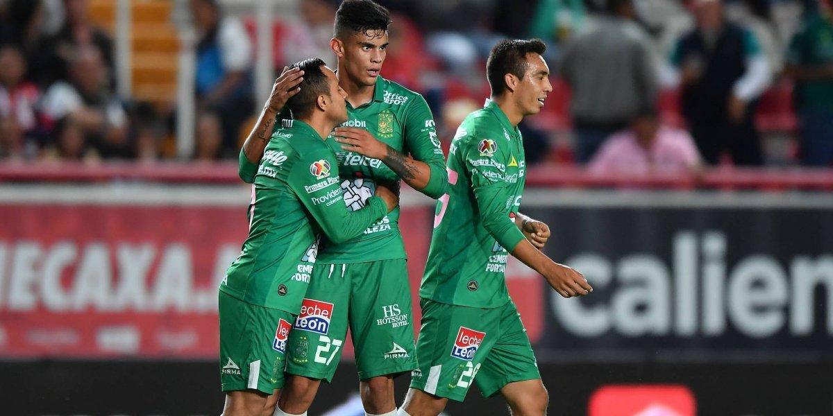 León le pega al Necaxa en Aguascalientes