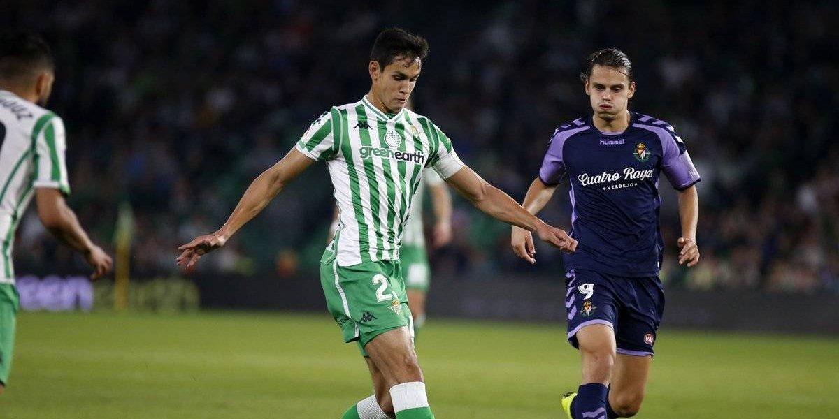 Sin Guardado, el Betis cae ante el Valladolid