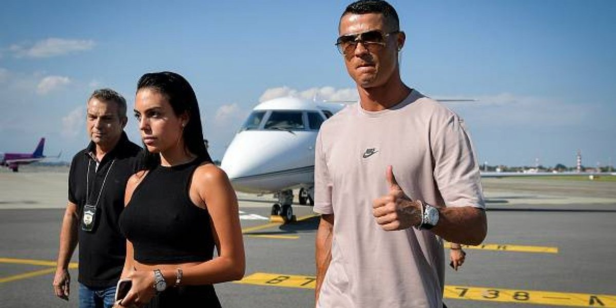 Impresionante cambio de look de novia de Cristiano Ronaldo