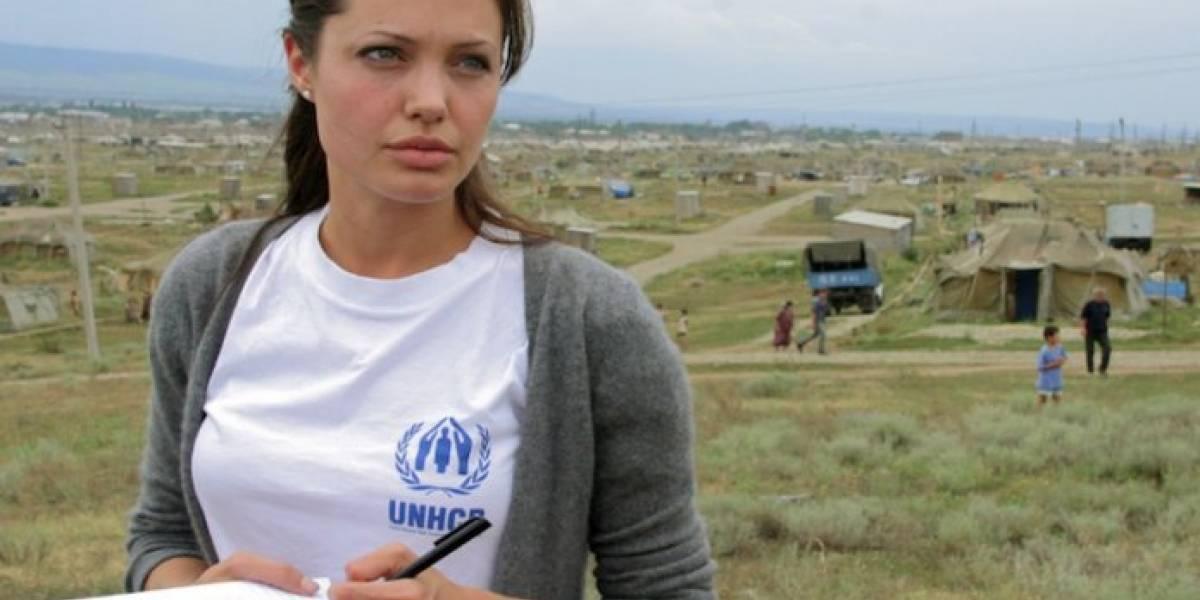 ¡Gran corazón! Angelina Jolie deja atrás su divorcio para ayudar a los migrantes en Perú