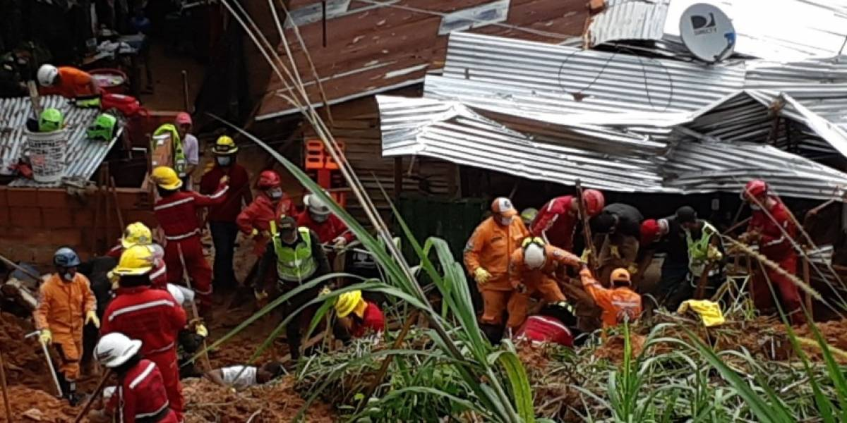 Aumenta cifra de muertos tras alud de tierra en Barrancabermeja