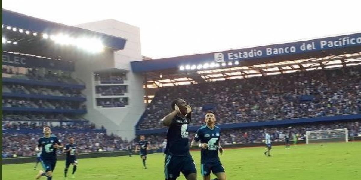 Emelec vs Macará: Triunfo 3-1 del 'Bombillo' aprieta más la punta de la tabla