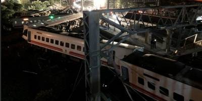 Descarrilamiento de tren en Taiwán deja 18 muertos
