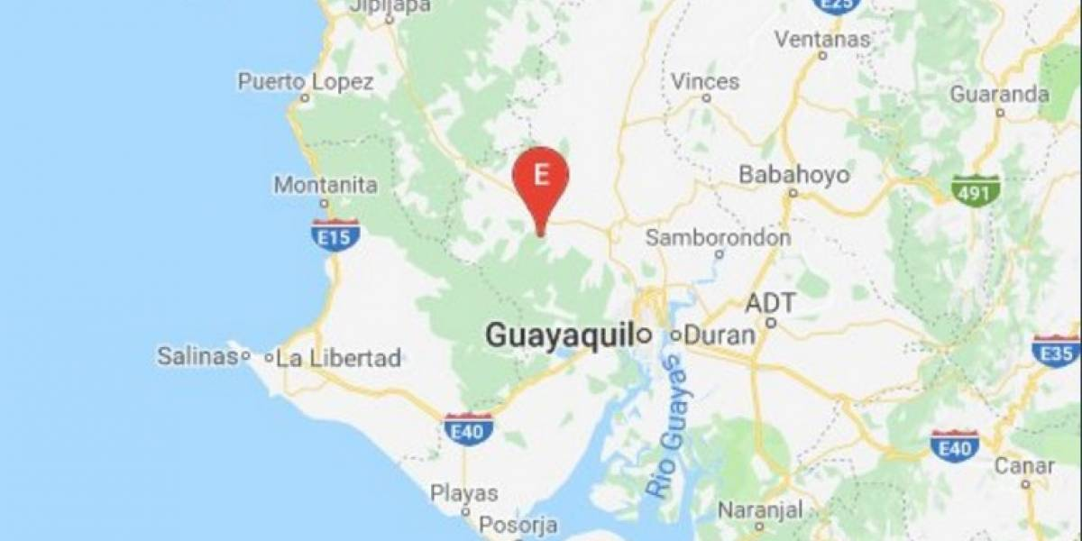 Sismo de magnitud 5.6 sacude la costa de Ecuador