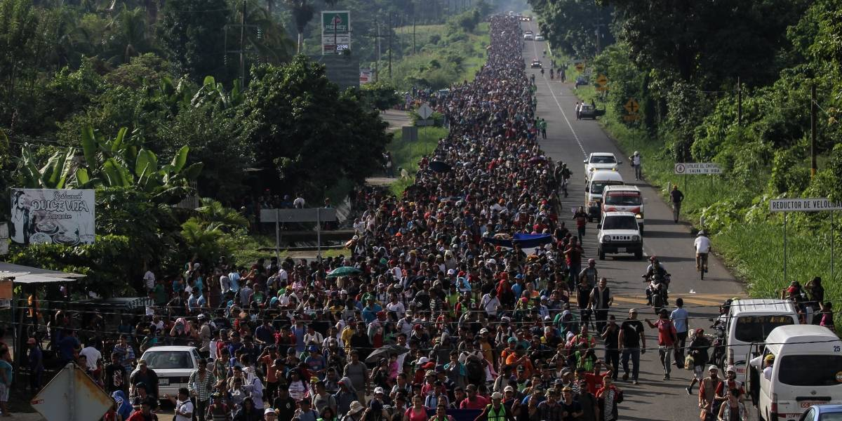 Aumenta 65% solicitudes de refugio de migrantes a México