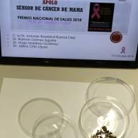 IPN desarrolla sensor para diagnosticar el cáncer de mamá