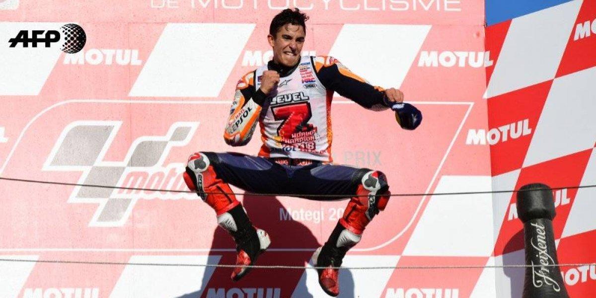 Marc Márquez se proclama campeón del GP de Japón