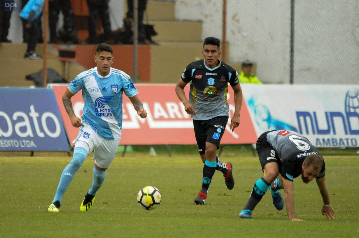 Ambato domingo 2-09-2018. Estadio bellavista Macara recibe a Emelec FOTOS API JORGE PEREZ.