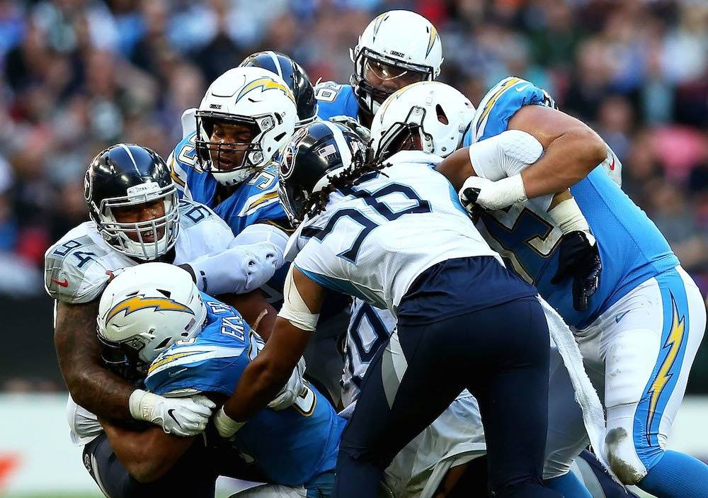 Titans 19-20 Chargers / Getty Images