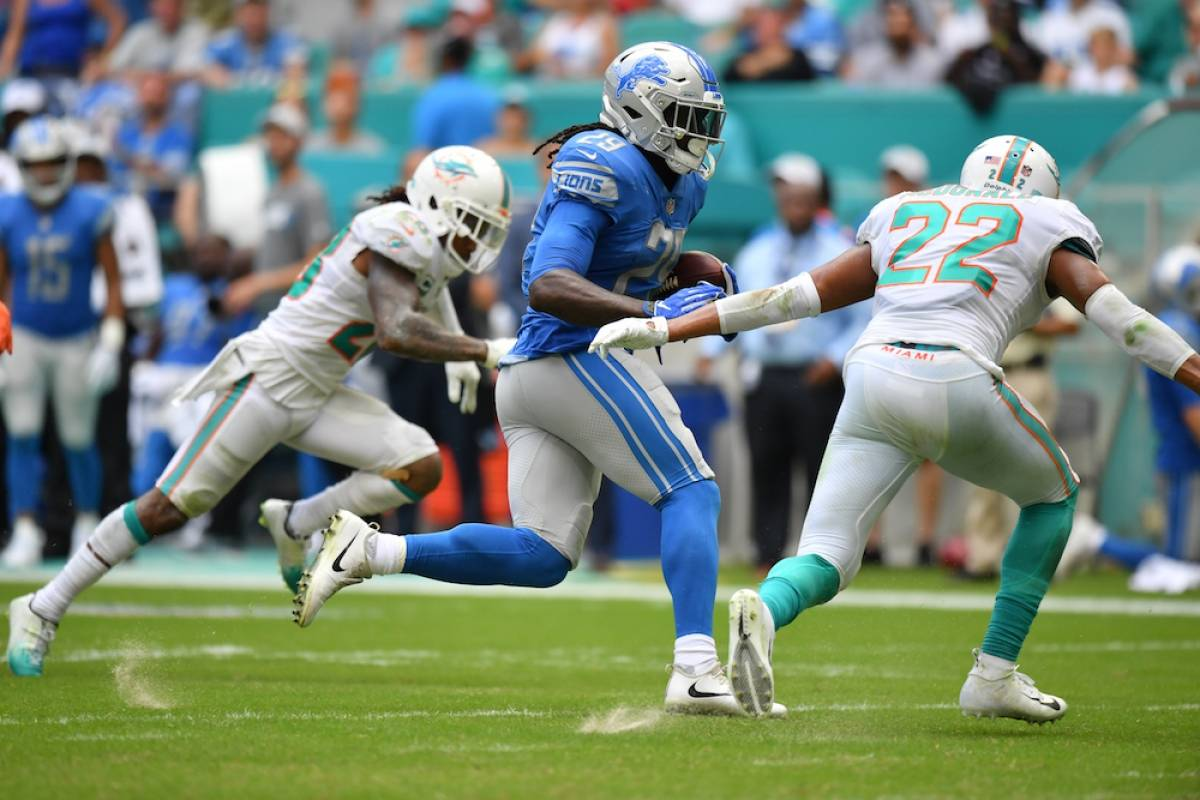 Lions 32-21 Dolphins / Getty Images