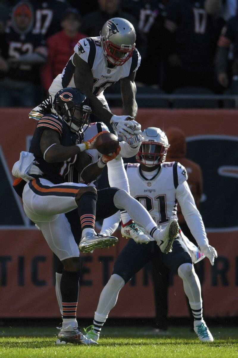 Patriots 38-31 Bears / Getty Images