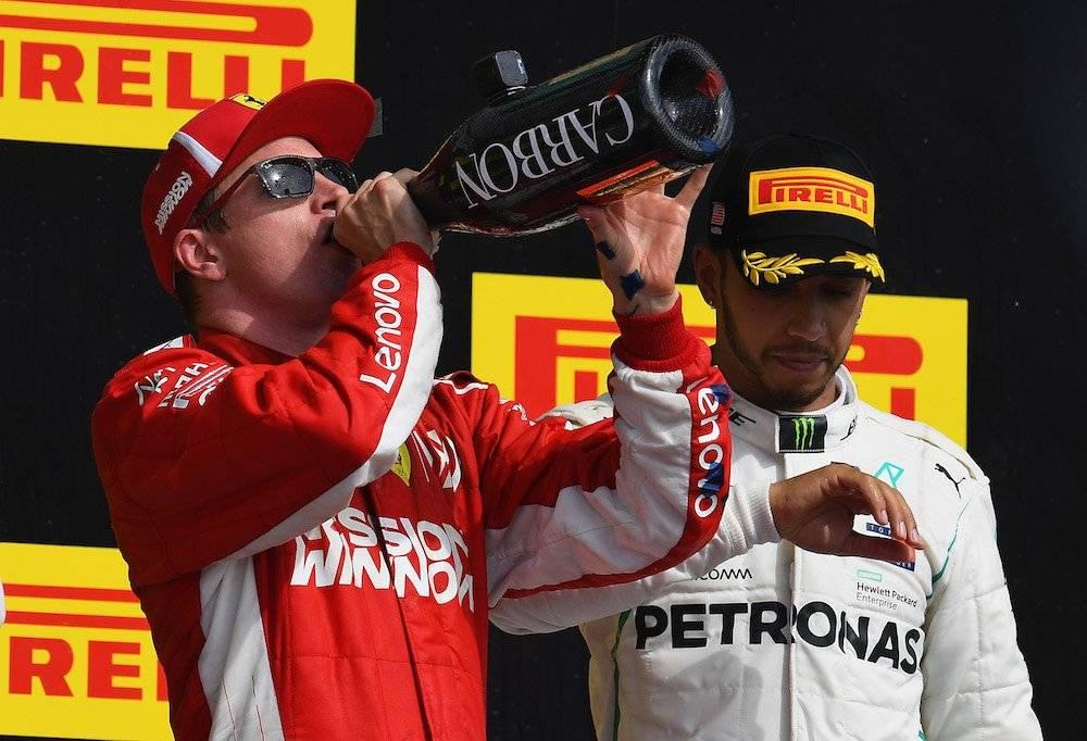 Kimi postergó la definición del campeonato una semana más. / Getty Images
