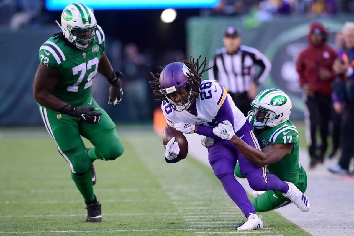 Vikings 37-17 Jets / Getty Images