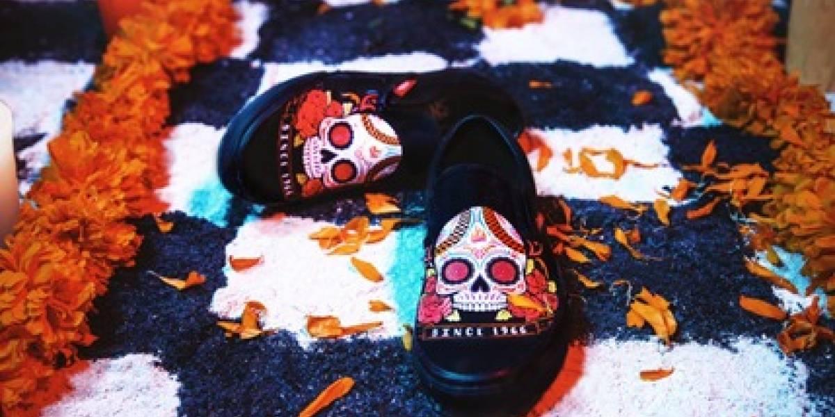 Día de Muertos inspira a Vans para una colección muy especial