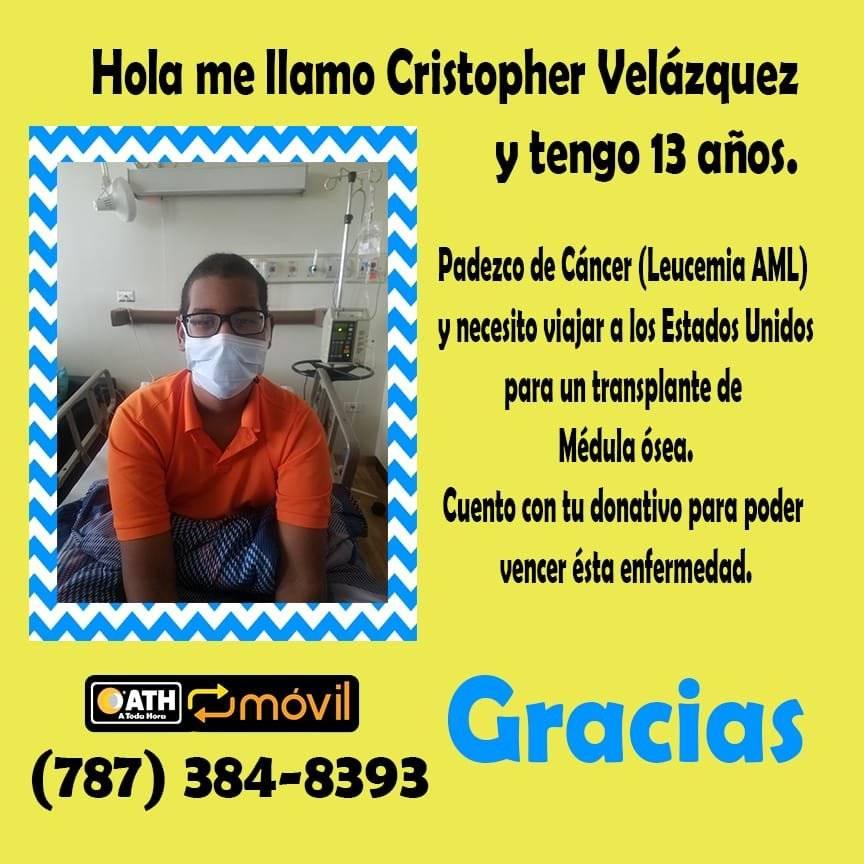 Cristopher Velázquez - 13 años
