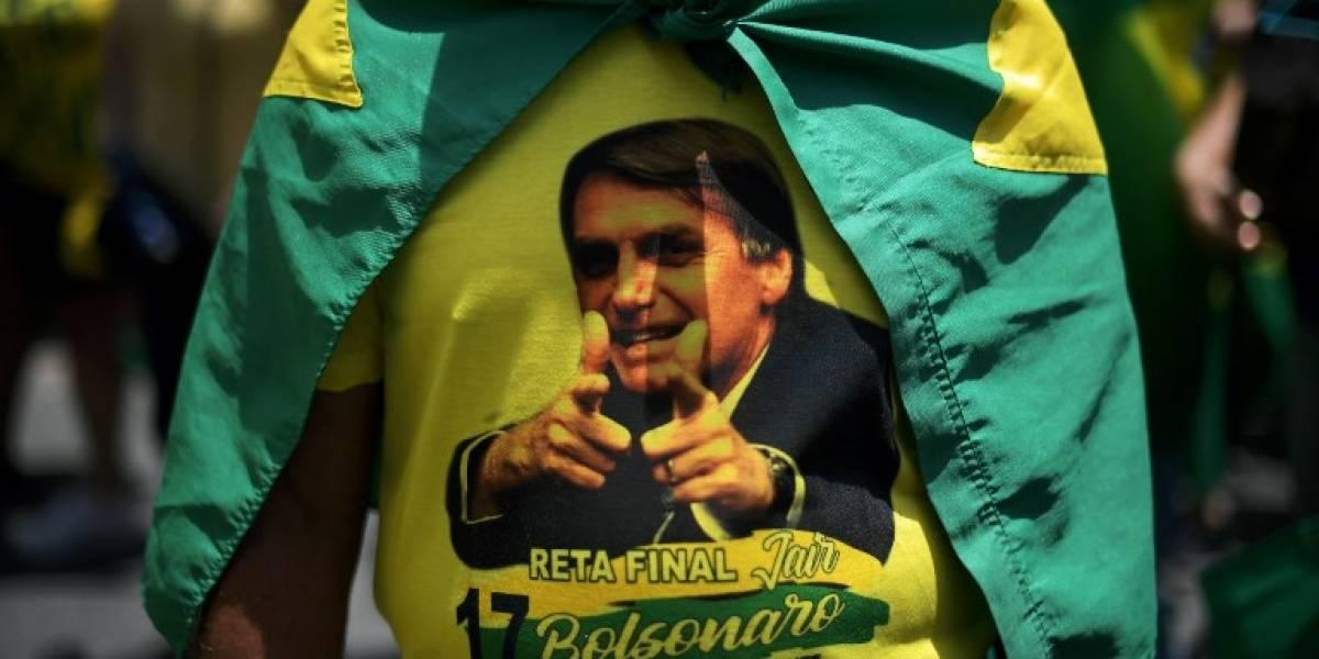 Manifestantes toman las calles contra Haddad y a favor de Bolsonaro [FOTOS]