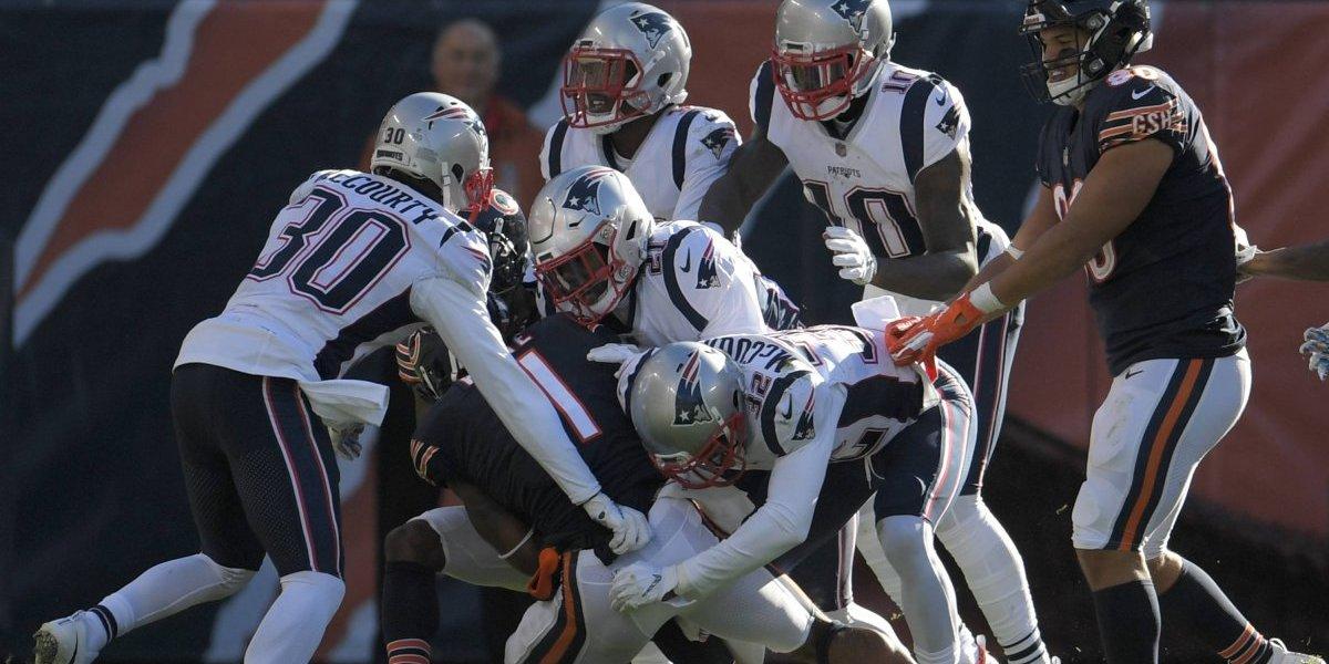 En final cardiaco, Patriots vencen a Bears y suman 4 triunfos seguidos