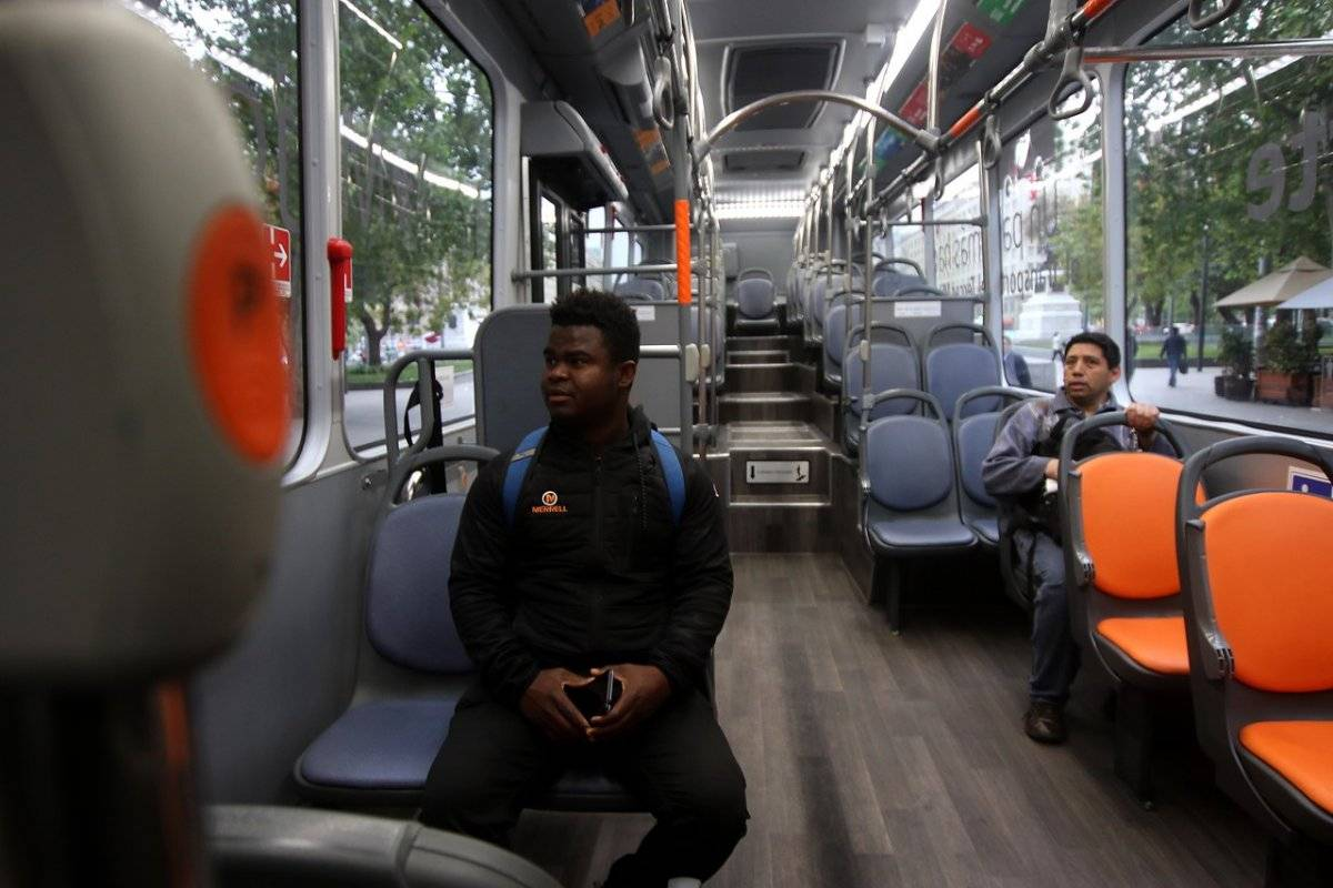 Buses son con piso bajo