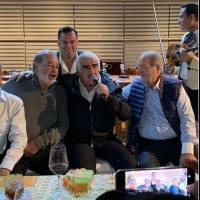 Vicente Fernández recibió a Carlos Slim.