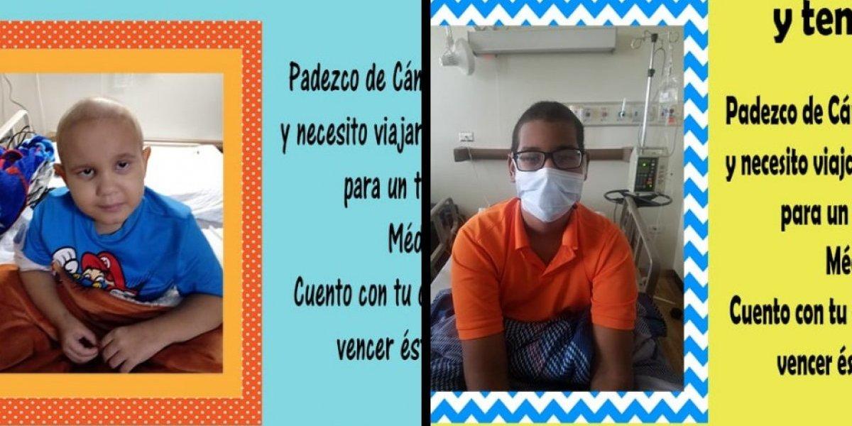 Piden ayuda económica para dos niños diagnosticados con Leucemia