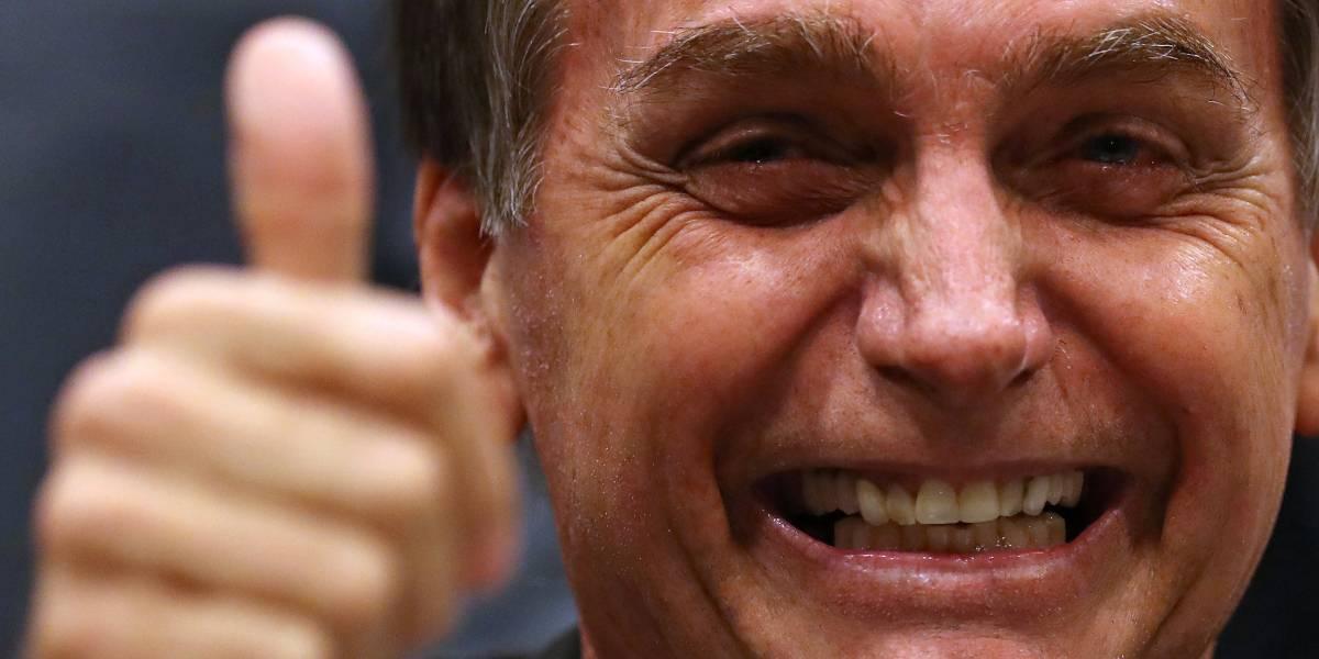 'Esses marginais vermelhos serão banidos de nossa pátria', diz Bolsonaro
