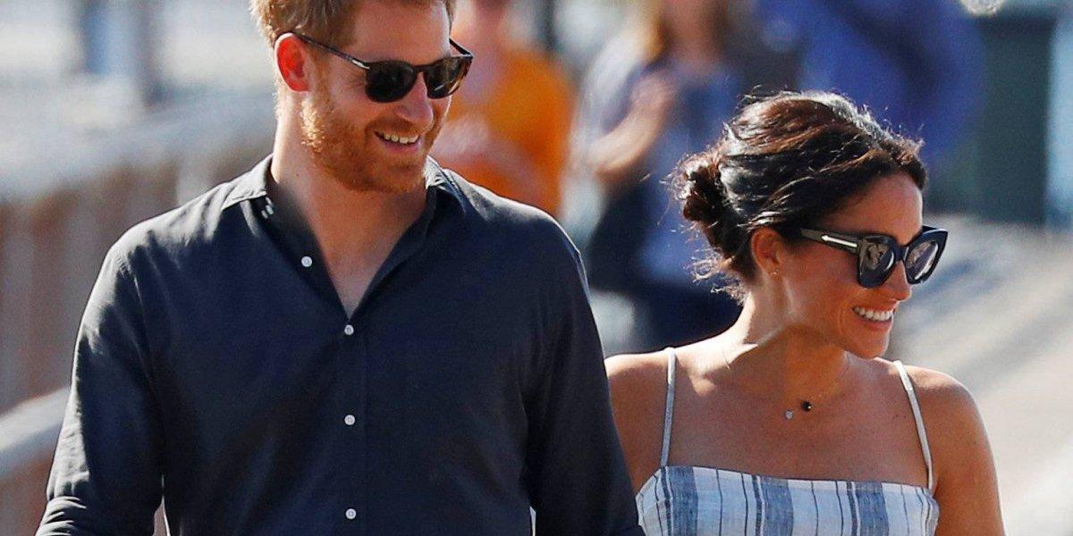 Os vestidos com os quais Meghan Markle mostrou sua gravidez durante viagem com o príncipe Harry