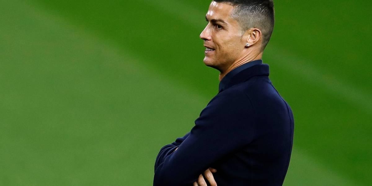Cristiano Ronaldo não será incriminado por estupro