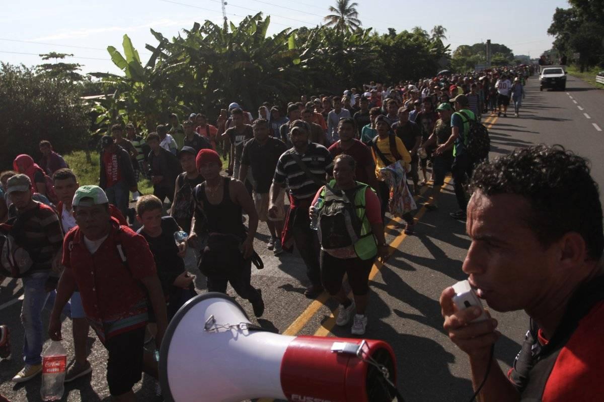 Llegada de migrantes centroamericanos a Chiapas en octubre Foto: Cuartoscuro.