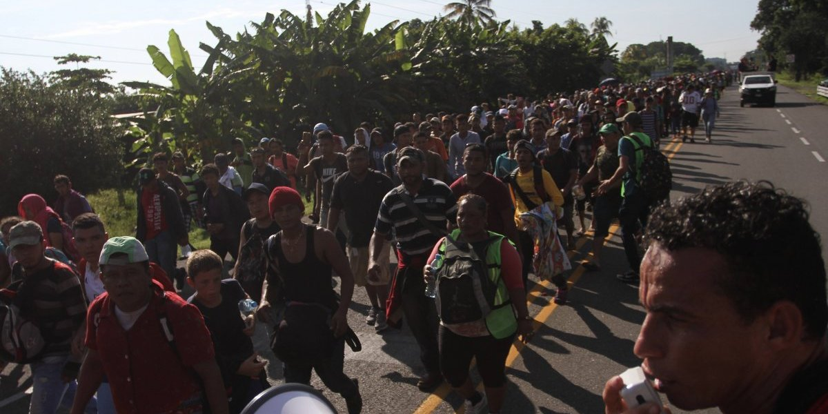 Refugiados de Centro y Sudamérica se disparan 135% en Mexico