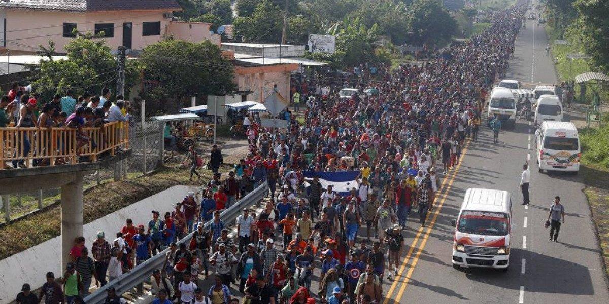 Miles de migrantes en México deciden si continúan su marcha a Estados Unidos