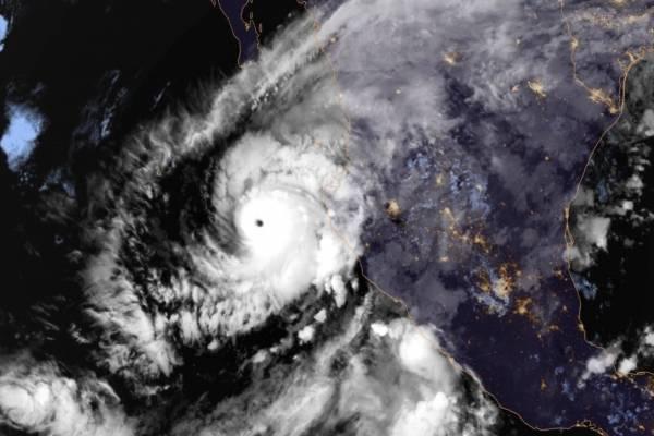 huracán Willa. AP