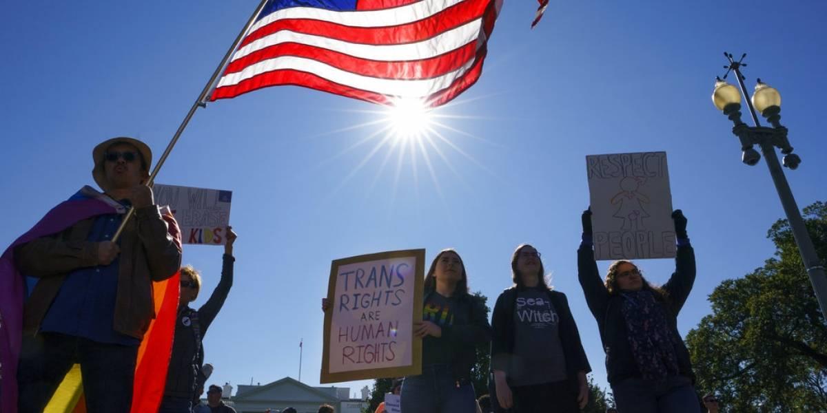 Plan de Estados Unidos de no reconocer transgénero genera indignación