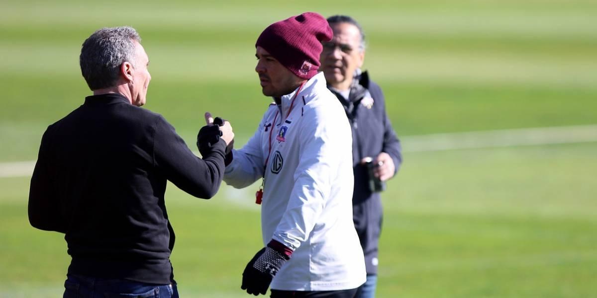 """El espaldarazo de Marcelo Espina a Héctor Tapia: """"Es el entrenador de Colo Colo y trabaja bien"""""""
