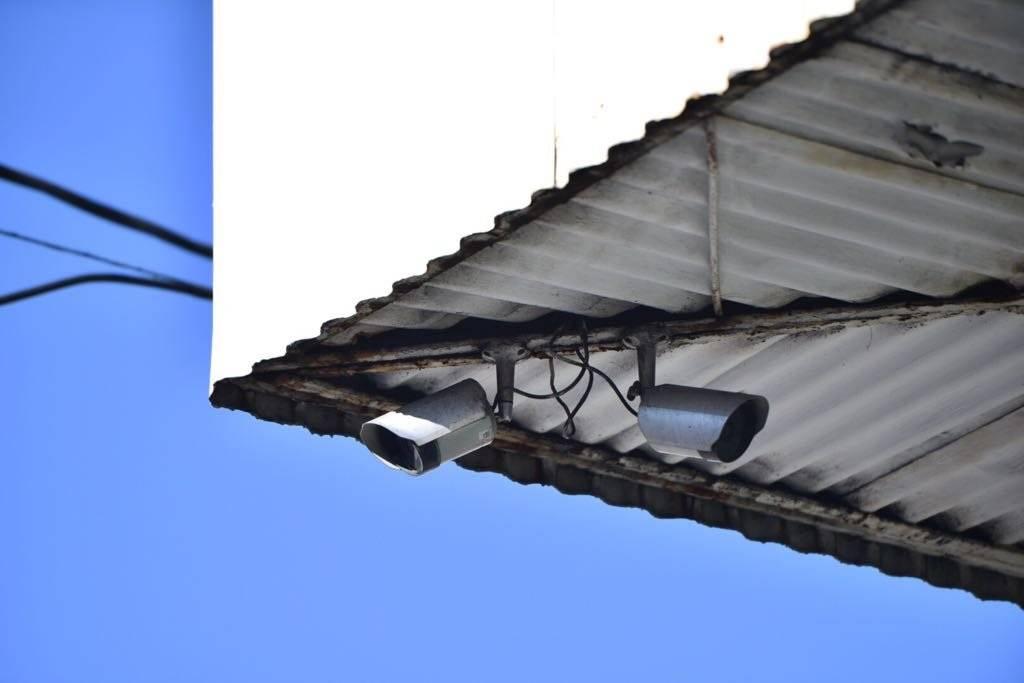 En el lugar donde ocurrió el crimen hay cámaras de videovigilancia. Foto: Alejandro García