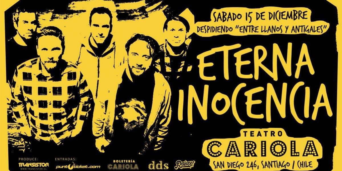 Eterna Inocencia regresa a Chile