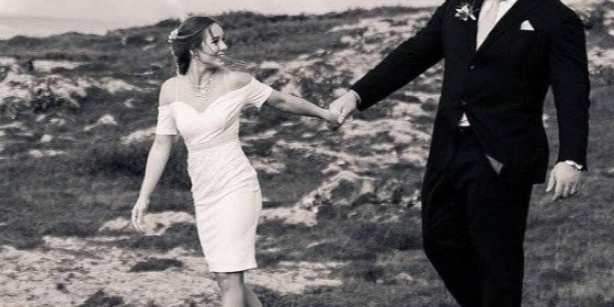 Thor Björnsson contrajo matrimonio con su novia