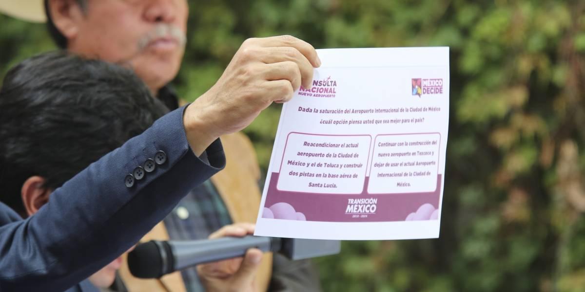 La consulta sobre el NAIM no es valida, ni legal, ni imparcial: CCE