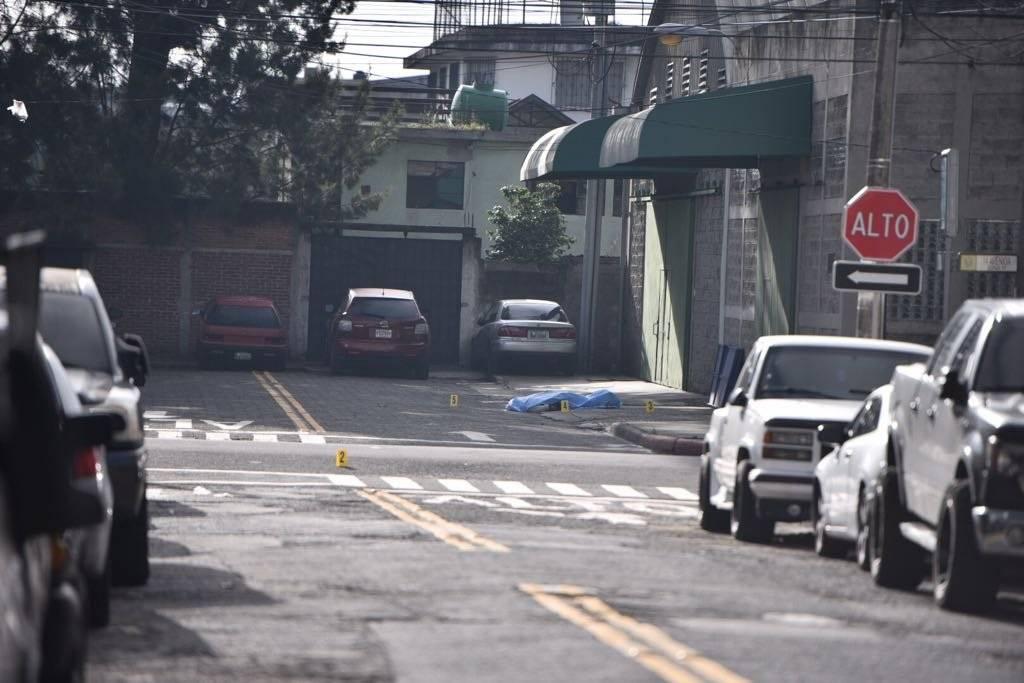 El ataque armado ocurrió en la colonia Carabanchel, en la zona 11 capitalina. Foto: Alejandro García
