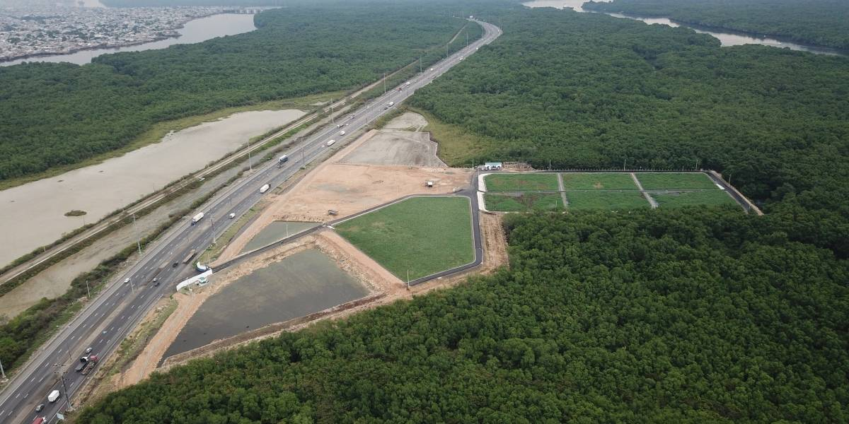 Emapag Ep: Autoridades visitaron la planta Pantanos Secos Artificiales en operación