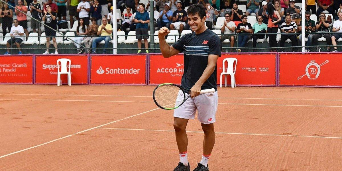 Christian Garín inicia su asalto al Top 100 en Lima para romper otra valla del tenis chileno