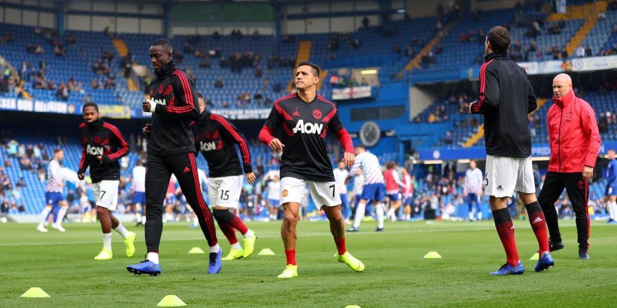 Alexis sigue sufriendo en el United y quedó descartado para el partido ante Juventus por Champions