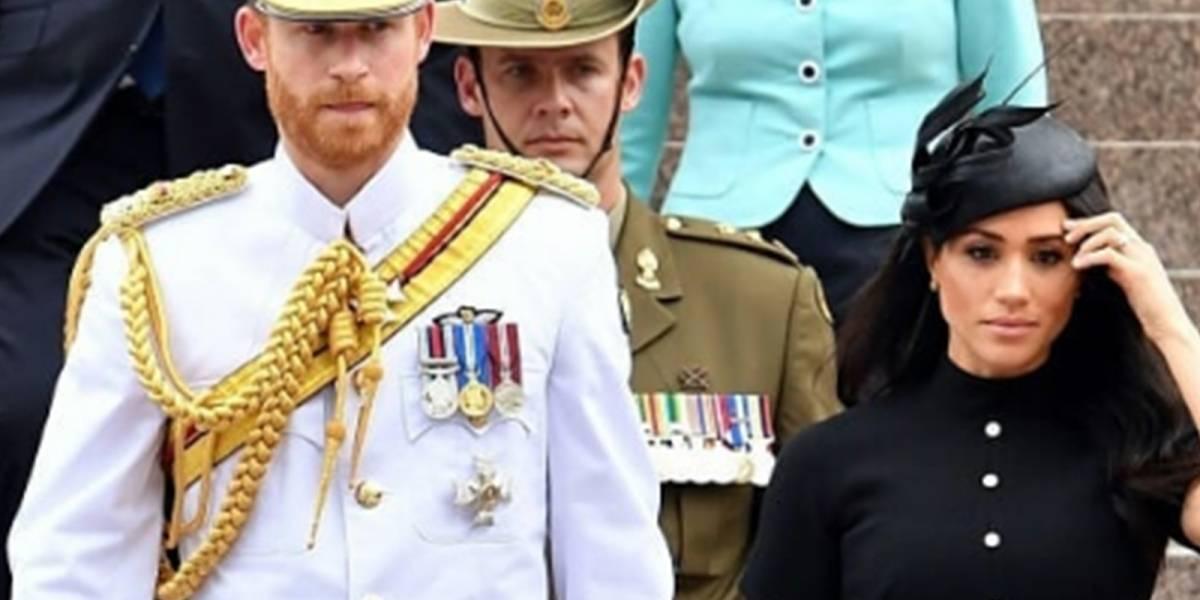 ¡Hasta las lágrimas! Harry y Meghan se quiebran en pleno evento durante su viaje a Australia