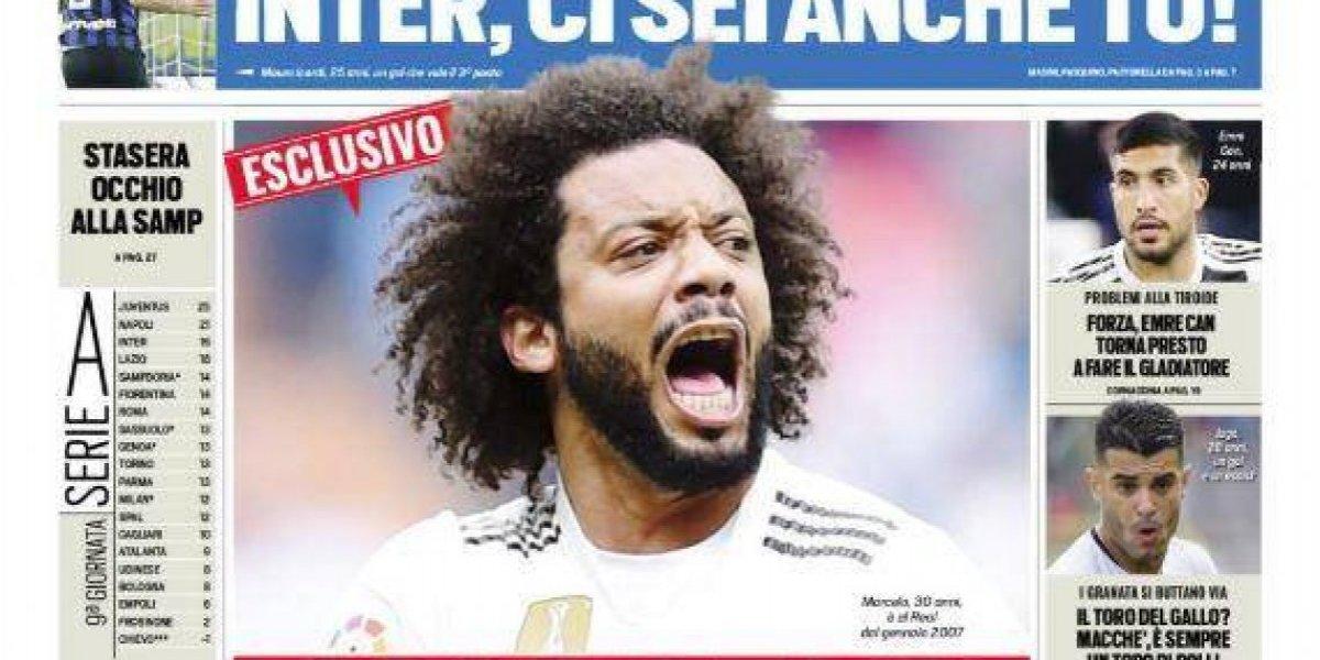 Real Madrid: Marcelo dispuesto a irse para llegar a la Juventus