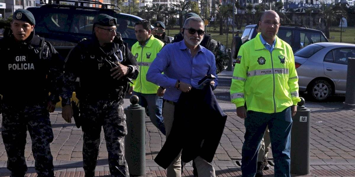Fernando Alvarado es el 'más buscado' por el Ministerio de Gobierno