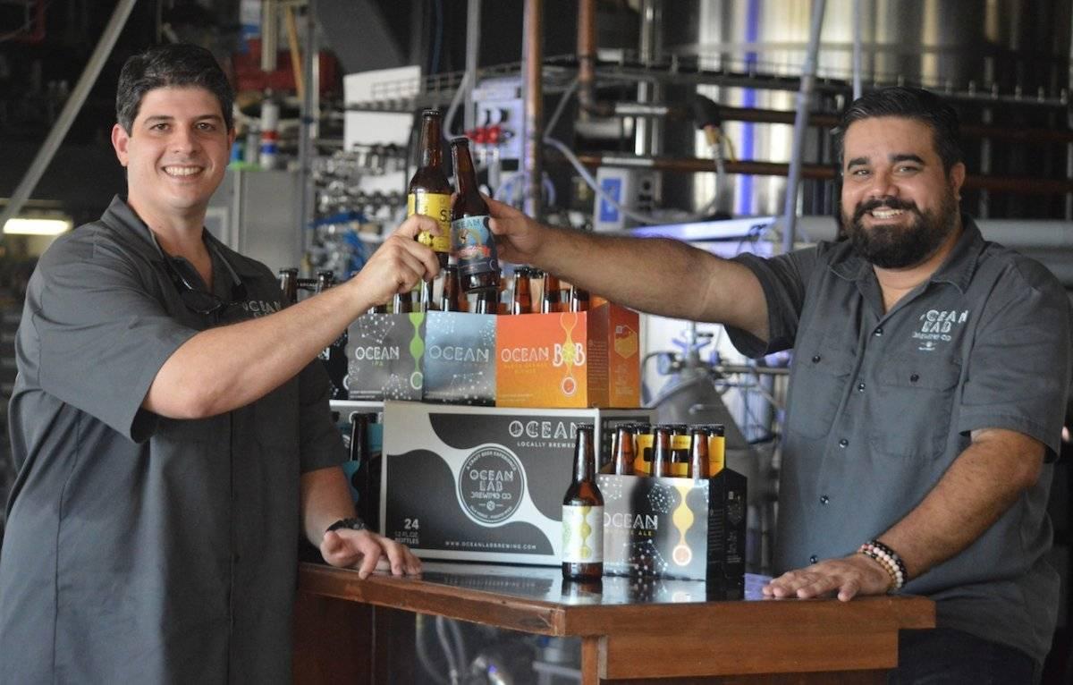 Ocean Lab es producto de un junte entre José Carlos González y Luis y Matías Fernández. l Foto por Perla Hernández