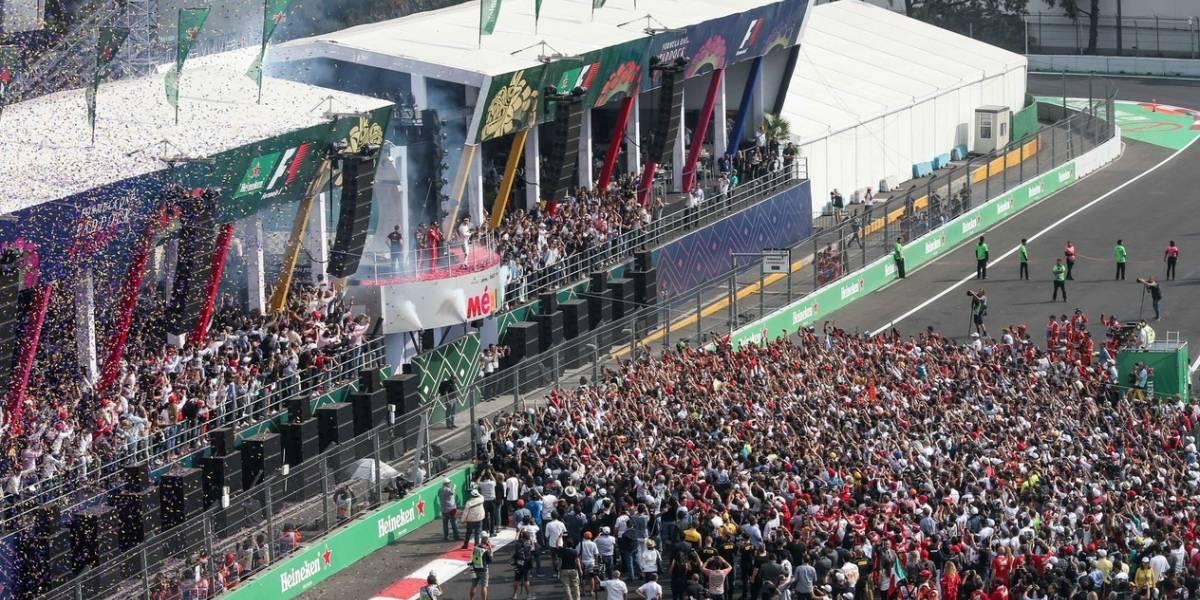 Por cuarto año consecutivo se agotan los boletos del GP de México