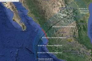 Huracán Willa, tormenta Vicente y frente frío 7