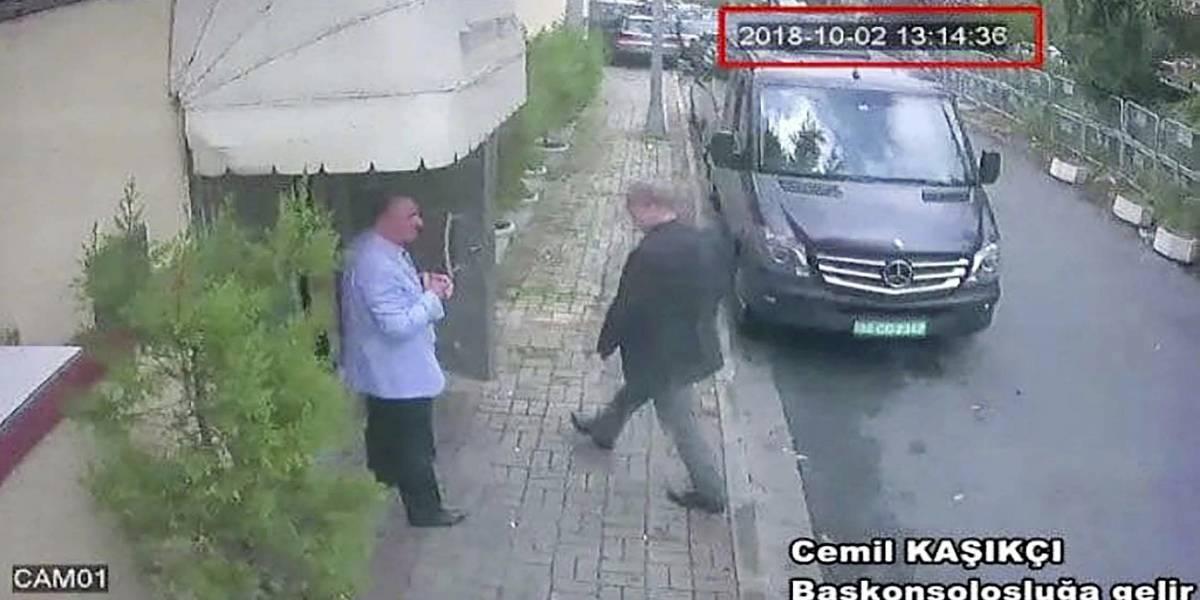 Habría sido trasladado en bolsas y maletas: canal turco revela video de lo que sería el traslado de los restos del periodista saudí