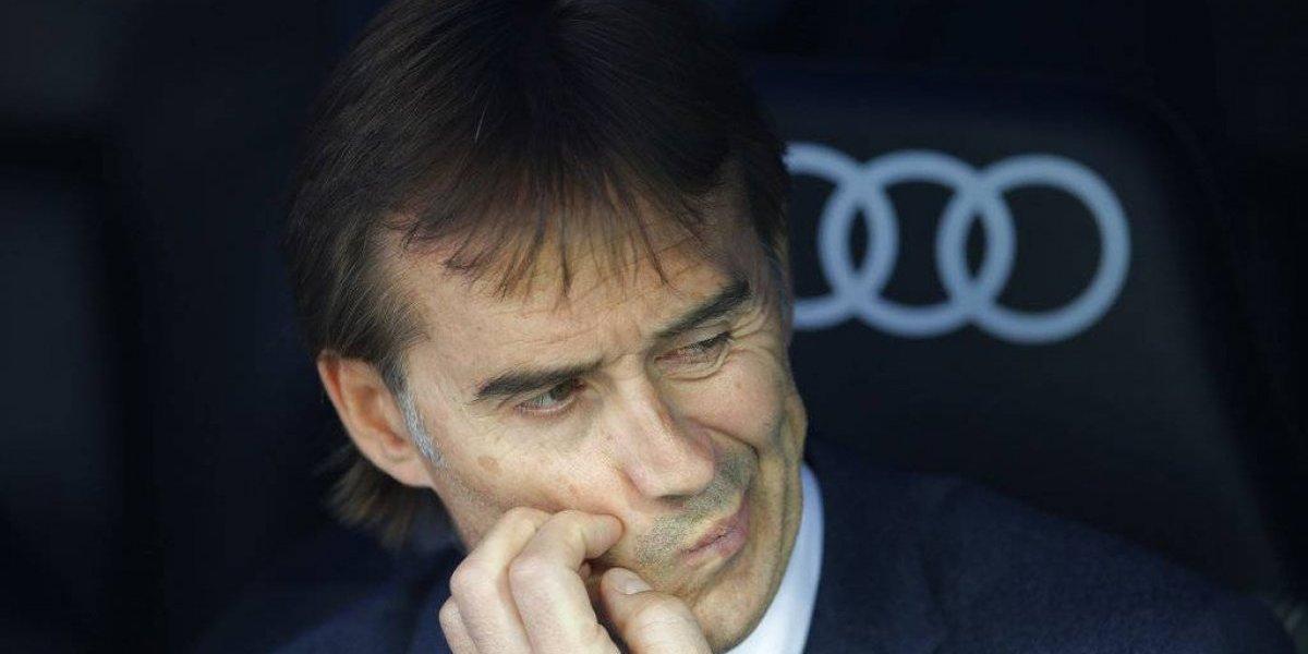 """Lopetegui no se va del Real Madrid, por ahora: """"Estará en la banca ante Barcelona, como es normal"""""""