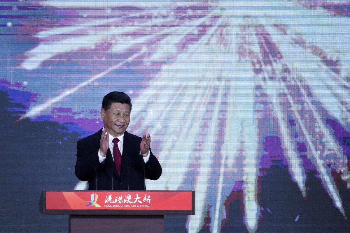 La inauguración estuvo a cargo de Xi Jinping Foto: AP